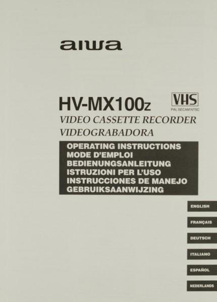 Aiwa HV-MX 100 z Bedienungsanleitung
