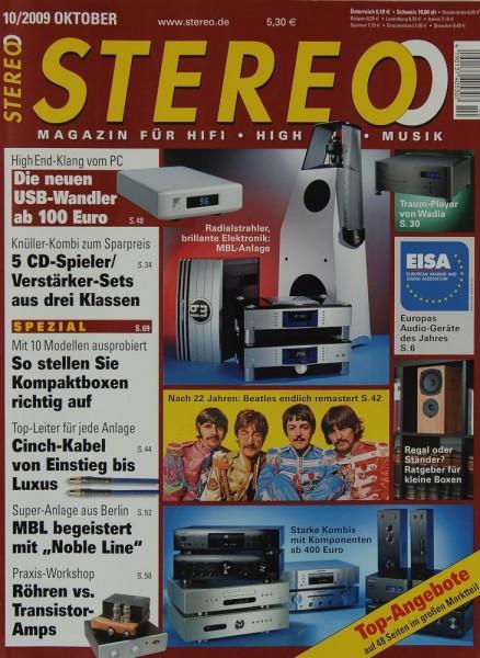 Stereo 10/2009 Zeitschrift