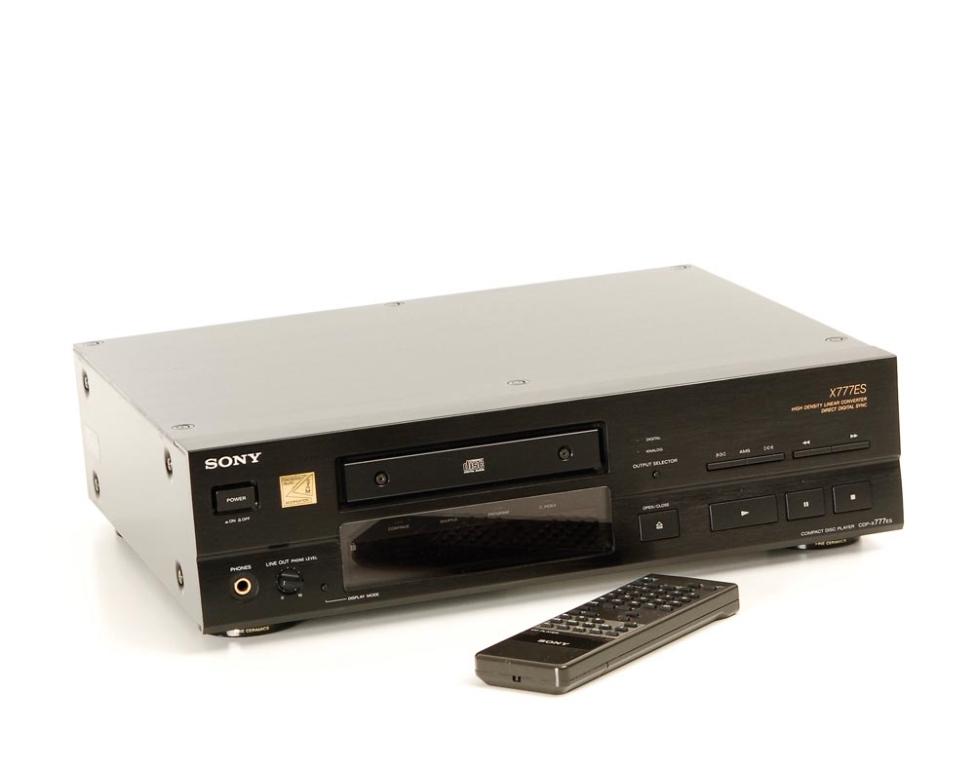 sony cdp x 777 es swoboda cd player cd ger te ger te. Black Bedroom Furniture Sets. Home Design Ideas