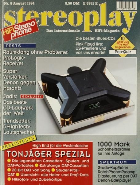 Stereoplay 8/1994 Zeitschrift
