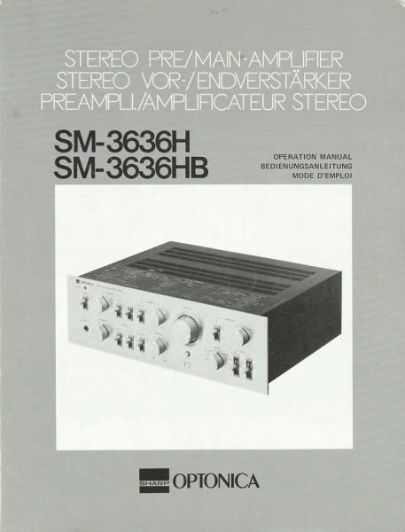 Optonica SM-3636 H / SM-3636 HB Bedienungsanleitung