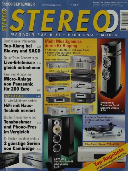Stereo 9/2009 Zeitschrift