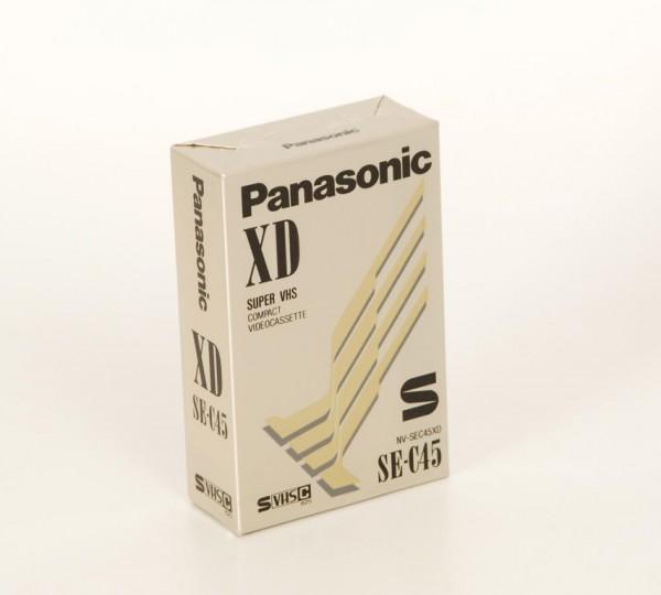 Panasonic SE-C45 XD Super VHC C Kassette NEU!
