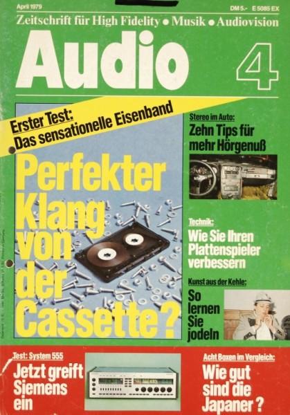 Audio 4/1979 Zeitschrift