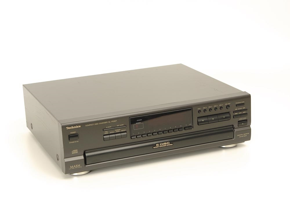 technics sl pd 887 cd wechsler cd ger te ger te. Black Bedroom Furniture Sets. Home Design Ideas