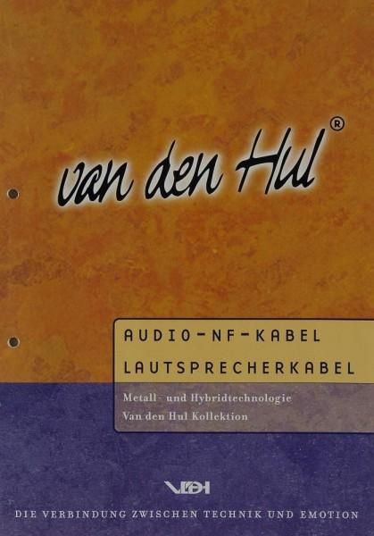 van den Hul Audio-NF-Kabel / Lautsprecherkabel Prospekt / Katalog