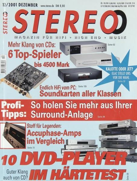 Stereo 12/2001 Zeitschrift