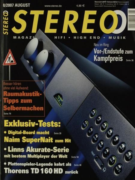 Stereo 8/2007 Zeitschrift