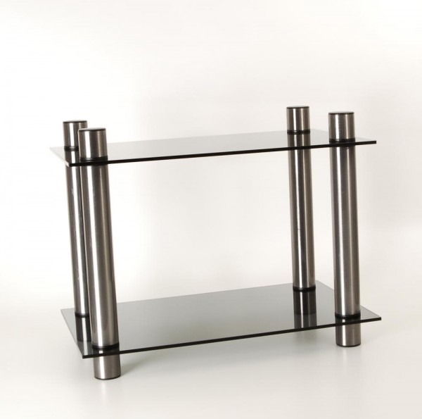 Hifi Rack Glas Metall