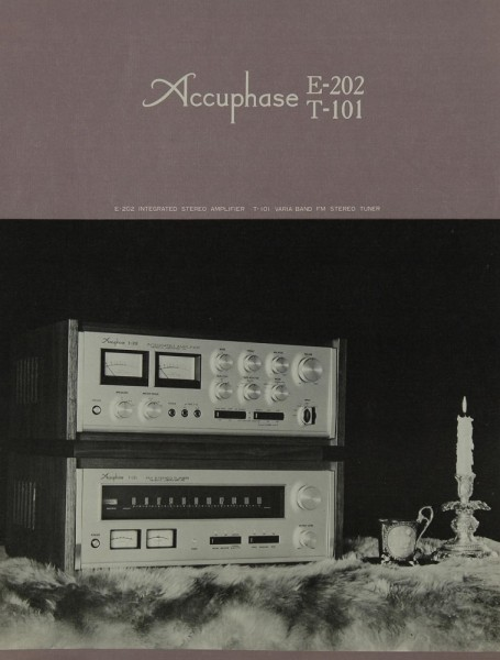 Accuphase E-202 / T-101 Prospekt / Katalog