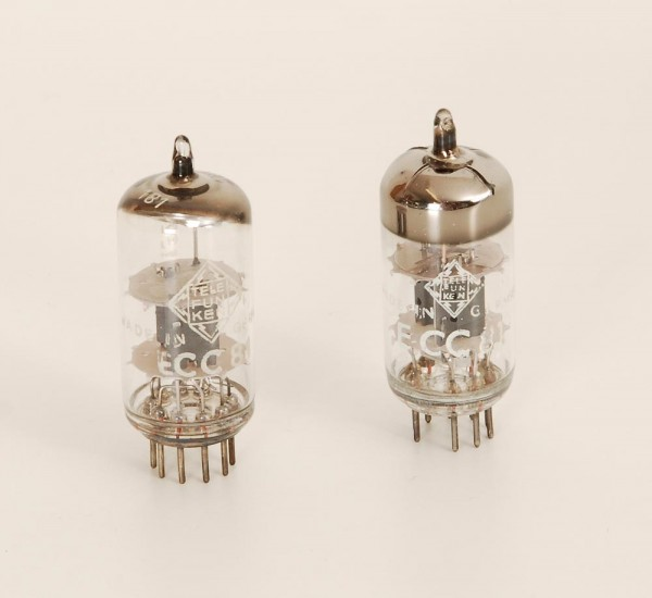 Telefunken ECC81 Paar