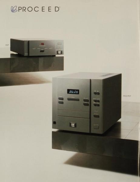 Proceed (Madrigal Audio Laboratories) PDP / PCD / PDT Prospekt / Katalog