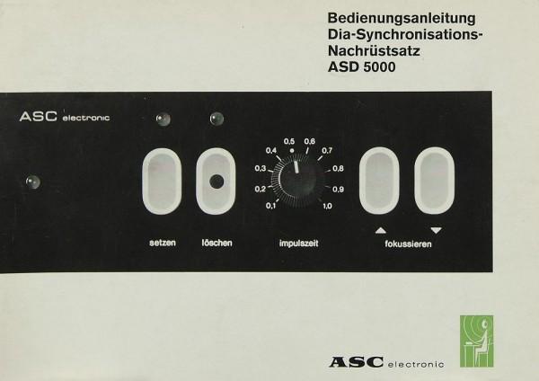 ASC ASD 5000 Bedienungsanleitung