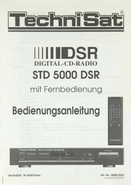 TechniSat STD 5000 DSR Bedienungsanleitung