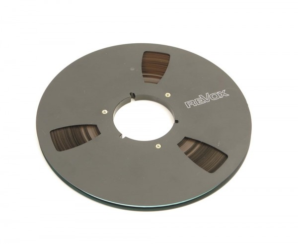 Revox Tonbänder 27er Metall schwarz