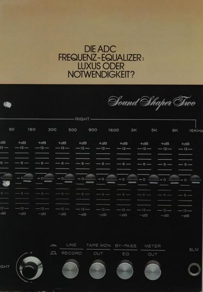 ADC Sound Shaper One & Two Prospekt / Katalog