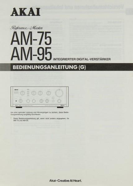 Akai AM-75 / AM-95 Bedienungsanleitung