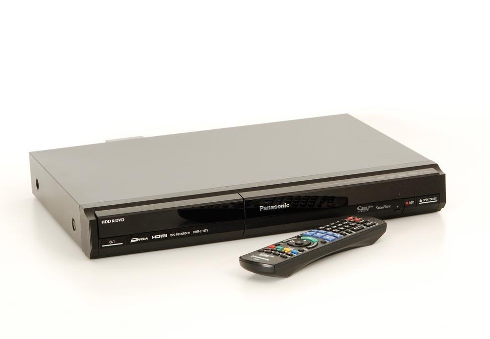 panasonic dmr eh575 dvd rekorder dvd rekorder dvd. Black Bedroom Furniture Sets. Home Design Ideas