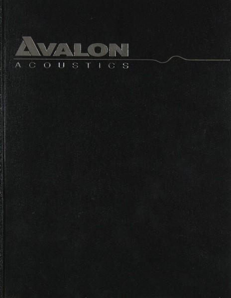 Avalon Acoustics Monitor Bedienungsanleitung
