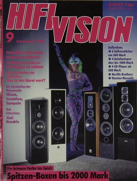 Hifi Vision 9/1990 Zeitschrift