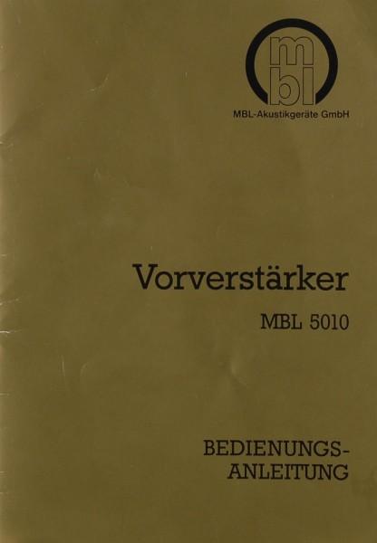 MBL MBL 5010 Bedienungsanleitung