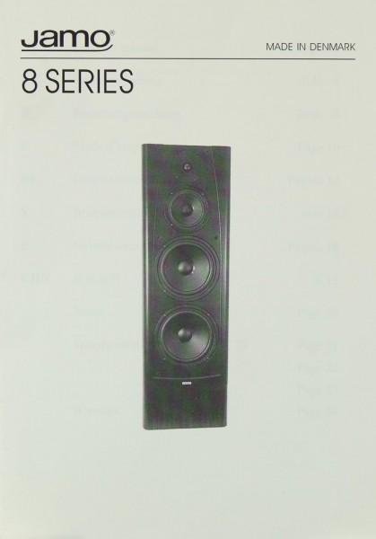 Jamo 8 Series Bedienungsanleitung