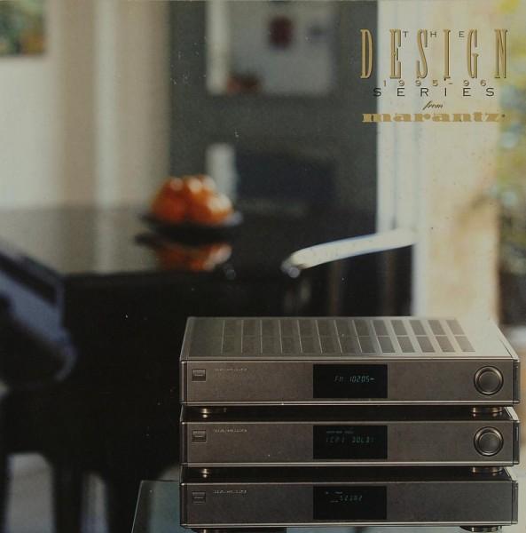 Marantz The Design from Marantz 1995-96 Prospekt / Katalog