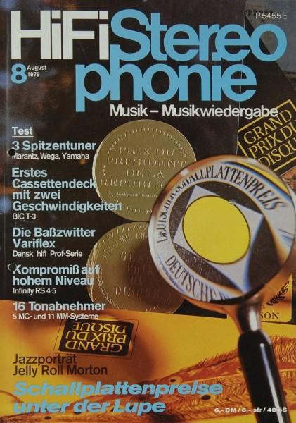 Hifi Stereophonie 8/1979 Zeitschrift