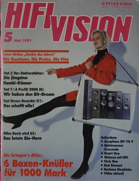 Hifi Vision 5/1991 Zeitschrift