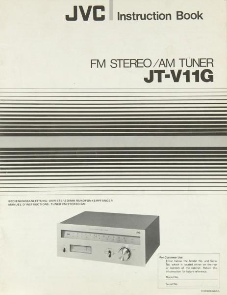 JVC JT-V 11 G Bedienungsanleitung