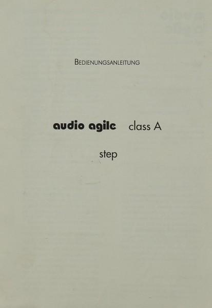 Audio Agile Class A -Step Bedienungsanleitung