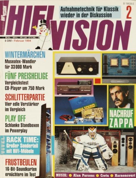 Hifi Vision 2/1994 Zeitschrift