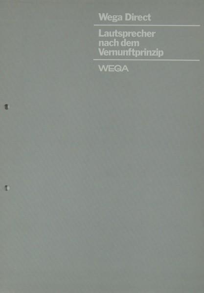 Wega Wega Direct Prospekt / Katalog