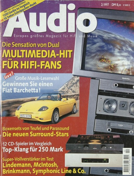 Audio 2/1997 Zeitschrift