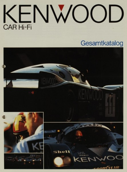 Kenwood Car Hi-Fi Gesamtkatalog Prospekt / Katalog