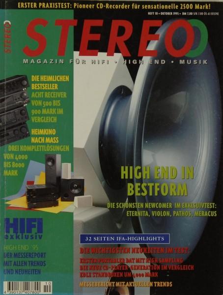 Stereo 10/1995 Zeitschrift