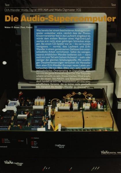 Wadia Digital 1000 X64 / Digimaster X32 Testnachdruck