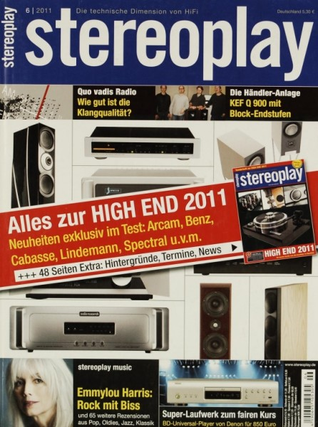 Stereoplay 6/2011 Zeitschrift