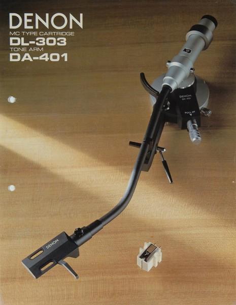 Denon DL-303 / DA-401 Prospekt / Katalog
