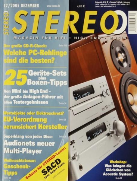 Stereo 12/2005 Zeitschrift