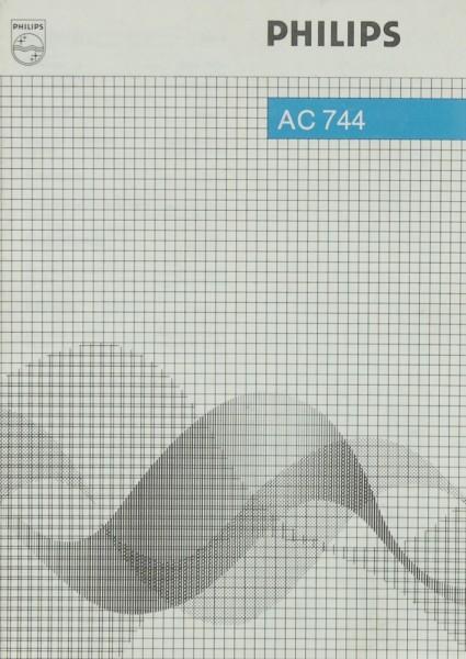 Philips AC 744 Bedienungsanleitung