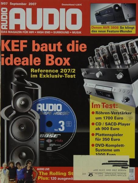 Audio 9/2007 Zeitschrift