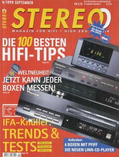 Stereo 9/1999 Zeitschrift