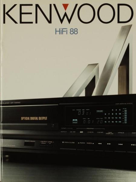 Kenwood HiFi 88 Prospekt / Katalog
