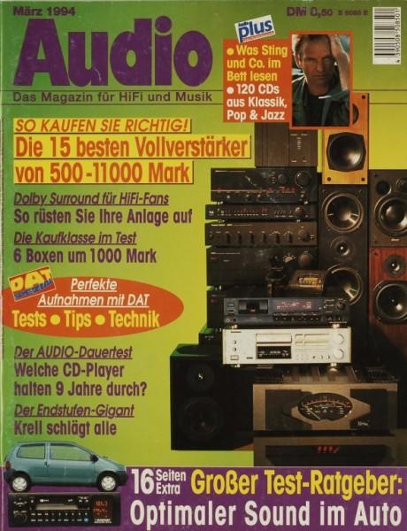 Audio 3/1994 Zeitschrift