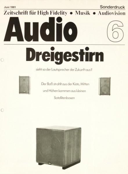 Verschiedene Dreigestirn: Canton / Audio Pro / LCS LE-122 Testnachdruck