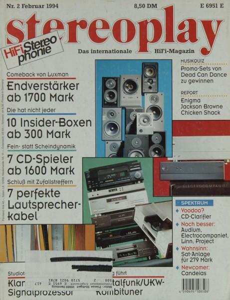 Stereoplay 2/1994 Zeitschrift