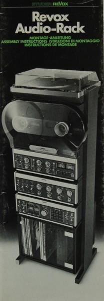 Revox Audio-Rack Bedienungsanleitung