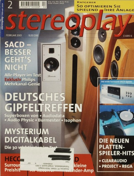 Stereoplay 2/2001 Zeitschrift
