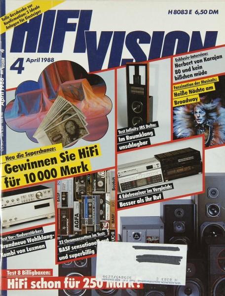 Hifi Vision 4/1988 Zeitschrift